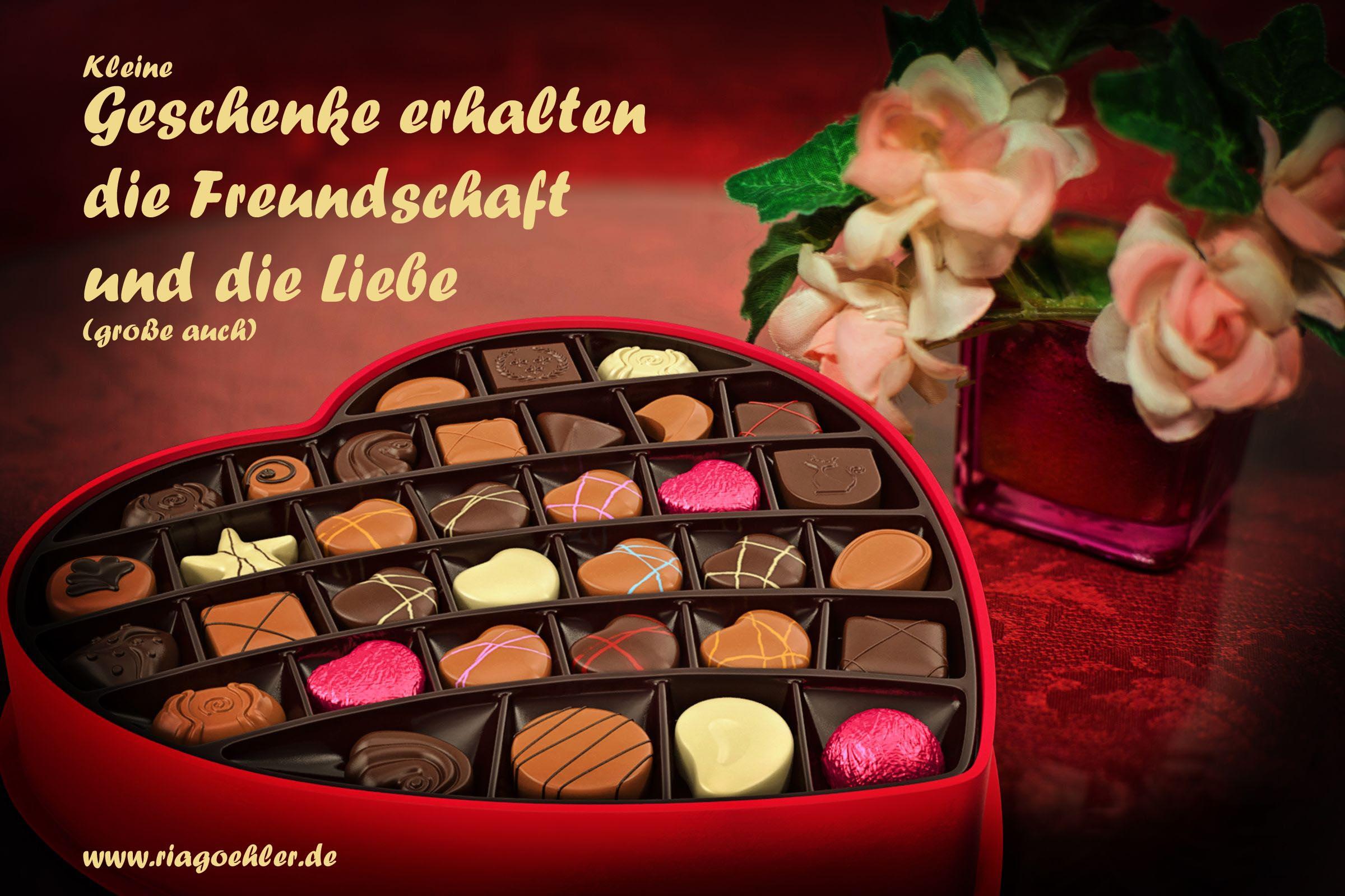 Kleine Geschenke Erhalten Die Freundschaft Und Die Liebe Ria Goehler